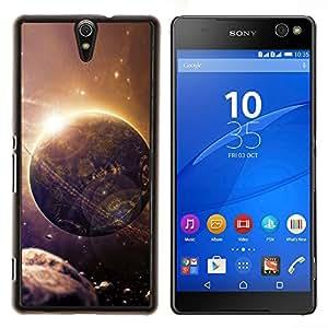 TECHCASE---Cubierta de la caja de protección para la piel dura ** Sony Xperia C5 Ultra ** --Espacio Planet Galaxy Estrellas 27