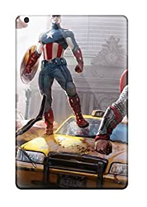4924533K24630005 Anti-scratch Case Cover Protective The Avengers Concept Art Case For Ipad Mini 3