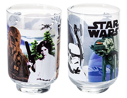 Star Wars Return of the Jedi Collectible Juice Glass Set