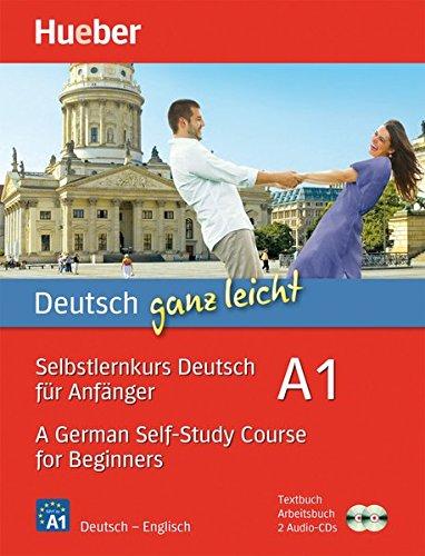 Read Online Deutsch ganz leicht A1 - A German Self-Study Course for Beginners: 2 Books & CDs pdf