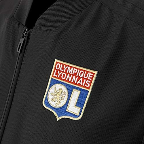 De Lyonnais Présentation Homme Noir Veste Blanc Olympique 1qASP
