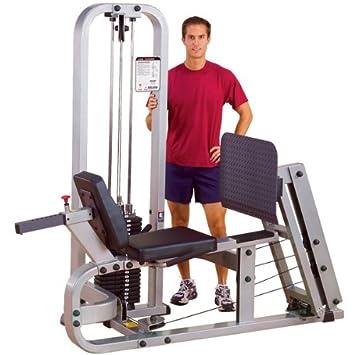 Body-Solid SLP-500G 3 Leg Press Machine Stack, 310 lb