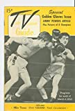 #5: 1950 TV Guide March 4 Golden Gloves Issue (Boxing) (32 pgs) - NY Metro Edition Very Good to Excellent (4 out of 10) Used Cond. by Mickeys Pubs