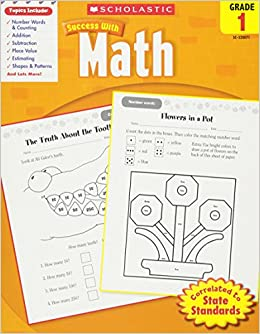 Scholastic Success with Math: Grade 1: Amazon.ca: Scholastic ...
