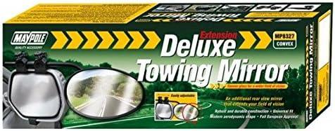 Towing Maypole Deluxe Glass Extension Mp8327 Universal Convex Caravan Mirror