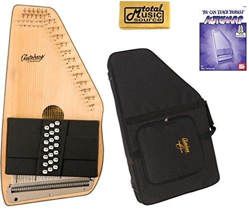 Oscar Schmidt 21 Chord Autoharp, Solid Spruce Top, Mahogany Back, OS10021 by Oscar Schmidt