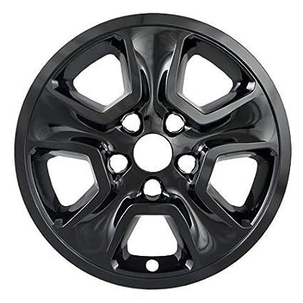 4pc Gloss Black Wheel Skins Fits 14-16 Grand Cherokee 17 Wheels