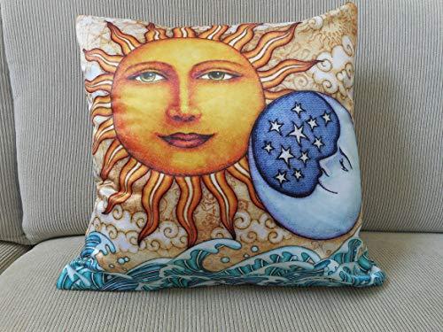 (Ocean Sunrise Throw Pillow Cover by Dan Morris, 18