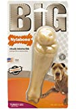Nylabone Big Chew Monster Original Flavored Durable Toy Turkey Leg Bone for Large Breeds
