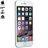 Apple iPhone 6, Silver, 16GB, AT&T, Includes One Year Warranty - (MG4P2LL/A) (Refurbished)