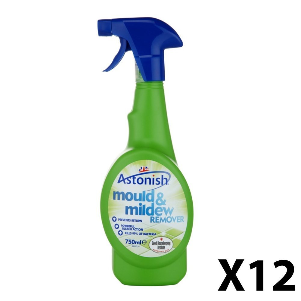 12 X Astonish Mould & Mildew Remover - 750 ml