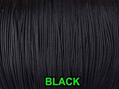 Amazing Drapery Hardware 100 YARDS 1.8 MM Professional Lift Cord for Blinds and Shades, in BLACK by Amazing Drapery Hardware