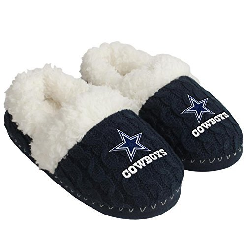 Dallas Cowboys Team Color Moccasin Large (Color Team Fashion)