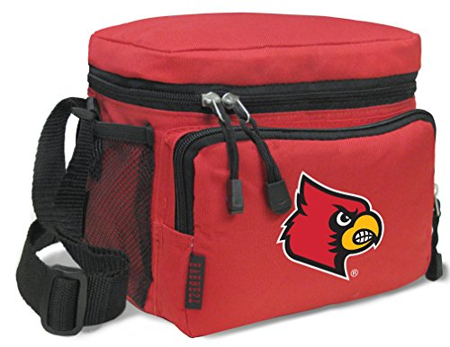 Broad Bay Louisville Cardinals Lunch Bags NCAA University of Louisville Lunch Boxes (Louisville Cardinals Lunch)