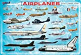 Jigsaw Puzzle History of Aviation - 13'''' x 19 , Kid ,Toy , Hobbie , Nice Gift