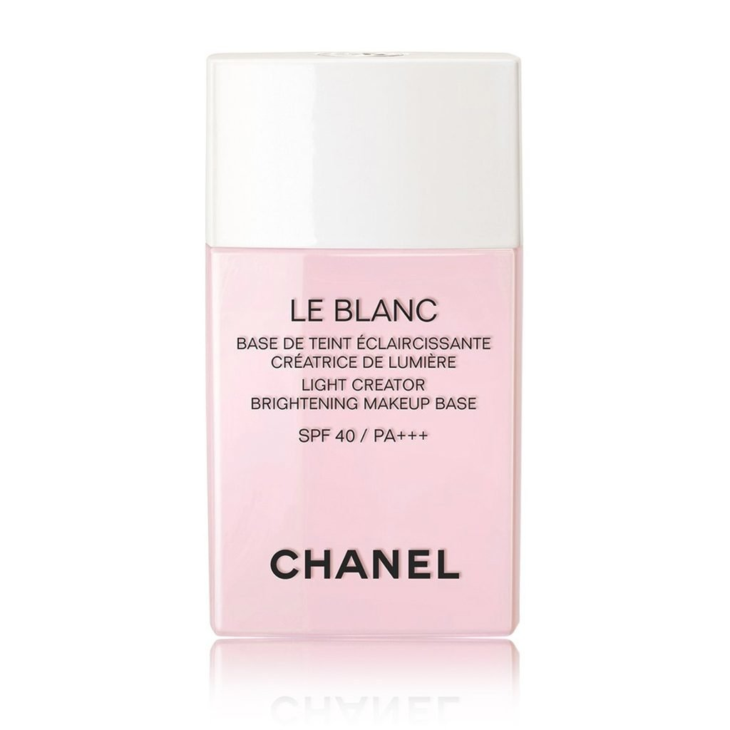CHANEL LE BLANC LIGHT CREATOR BRIGHTENING MAKEUP BASE SPF 40/PA +++ # 40 ORCHIDEE