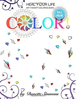 Heal Your Life Grief Adult Coloring Book
