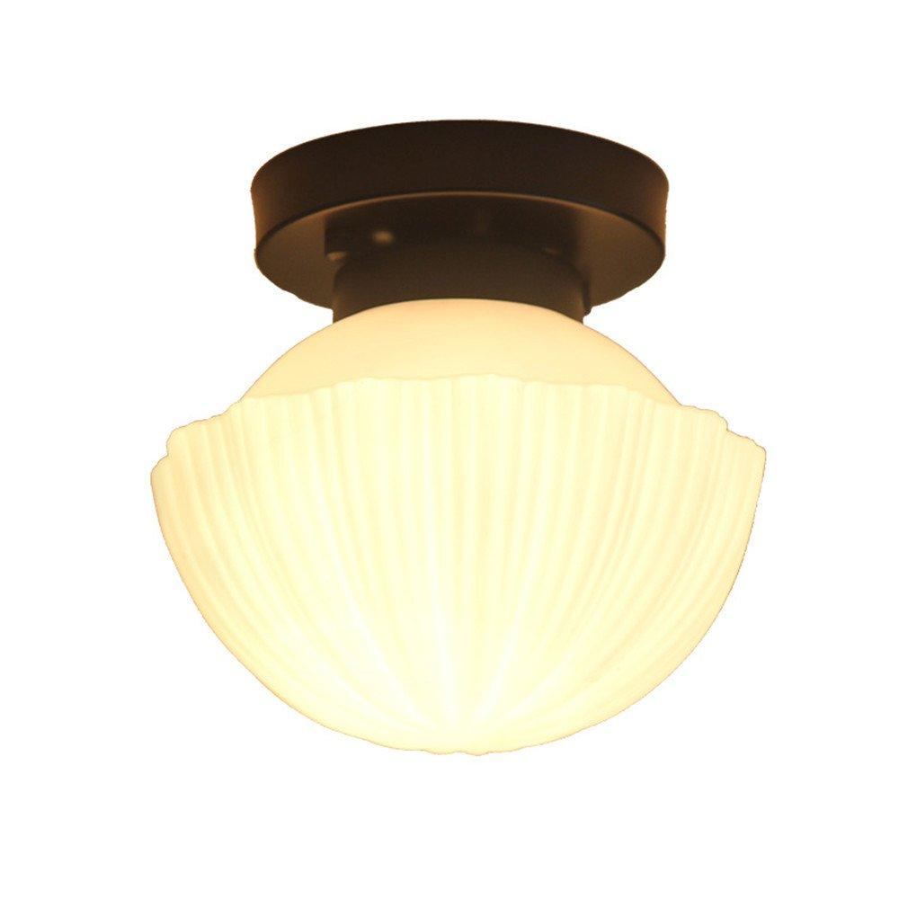WoOnew Iluminación de techo de interior Lámpara de techo de de techo hierro American Salón simple y moderna casa Jardín Restaurante nórdico de cuidados oculares colgantes, lámparas de 21  20 cm 2290dc