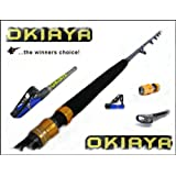 OKIAYA COMPOSIT 30-80LB SALTWATER BIG GAME ROLLER ROD