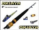 OKIAYA COMPOSIT 30-80LB SALTWATER BIG GAME ROLLER ROD, Outdoor Stuffs