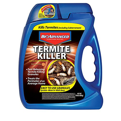 (BioAdvanced 700350A Termite Killer Home Perimeter Treatment Ready-to-Spread Granules, 9-Pounds)