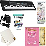 Homeschool Music - Learn to Play the Piano Pack (Disney Princesses 5 Finger Bundle) - Includes Casio CTK 2550 Keyboard w/Adapter, learn 2 Play DVD/Book, Books & All-Inclusive Learning Essentials