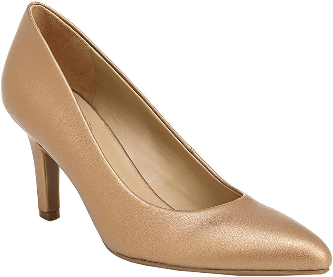 Naturalizer Womens Elicia Fabric Pointed Toe Classic Pumps