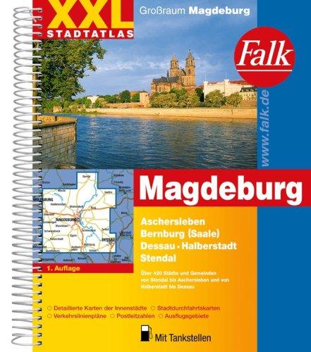 Falk XXL Stadtatlas Großraum Magdeburg