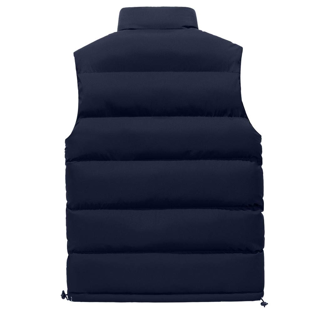 TAGGMY Jacket Men Fashion Winter Warm Plus Size Pocket Pure Color Waistcoat Vest Top Thickening Cotton Softshell Coat 3XL 6XL
