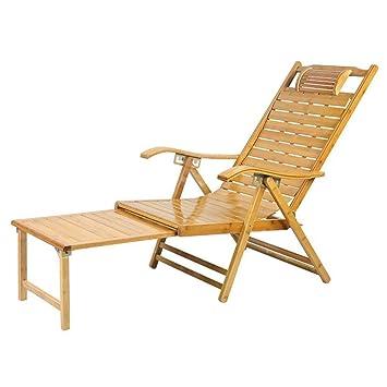 Q Bascule Pour Store Chaise Deckchairs Adulte À En Bambou KlcTFJ31