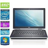 Dell Latitude E632013.3inch Laptop–Grey (Intel Core i52520M/ 2.5GHz, 8GB RAM, 128GB SSD Hard Drive, DVD Burner, Web cam, WiFi, Windows 7Professional)
