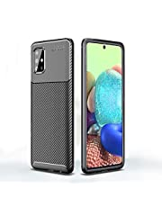 HEYUS for Samsung Galaxy A71 5G Case, Protective Carbon Fiber Case Cover Compatible with Samsung Galaxy A71 5G (NOT Fit A71), Lightweight Ultra Thin Slim