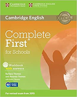 Book Complete First for Schools Workbook with Answers with Audio CD