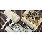 Image®10Pcs Pratique Kit Maker Accueil Cuisine Dîner sain Sushi riz moules Set
