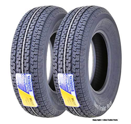 Tires ST 225/75R15 10PR Load Range E w/featured Scuff Gurard ()