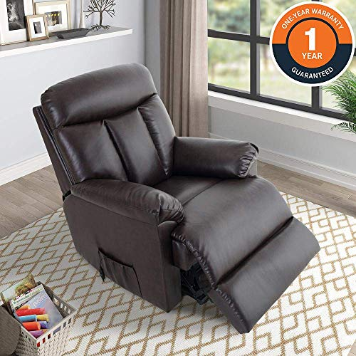 Lift Chairs for Elderly – Lift Chairs Recliners Lift Sofa Electric Recliner Chairs with Remote Control Soft PU Lounge