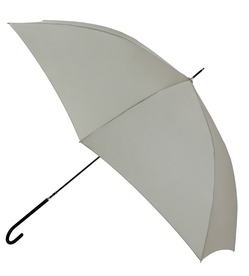 Original paraguas largo VOGUE estilo vintage. Fino y ligero gracias a su estructura de carbono. Antiviento, protección solar y acabado Teflón. (Azul)