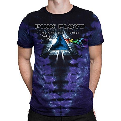 Liquid Blue Mens Pink Floyd Screaming Face Short Sleeve T-Shirt