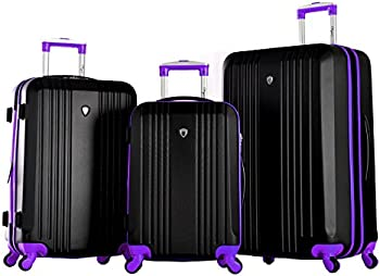 3-Pc. Olympia USA Apache Expandable Hardside Luggage Set