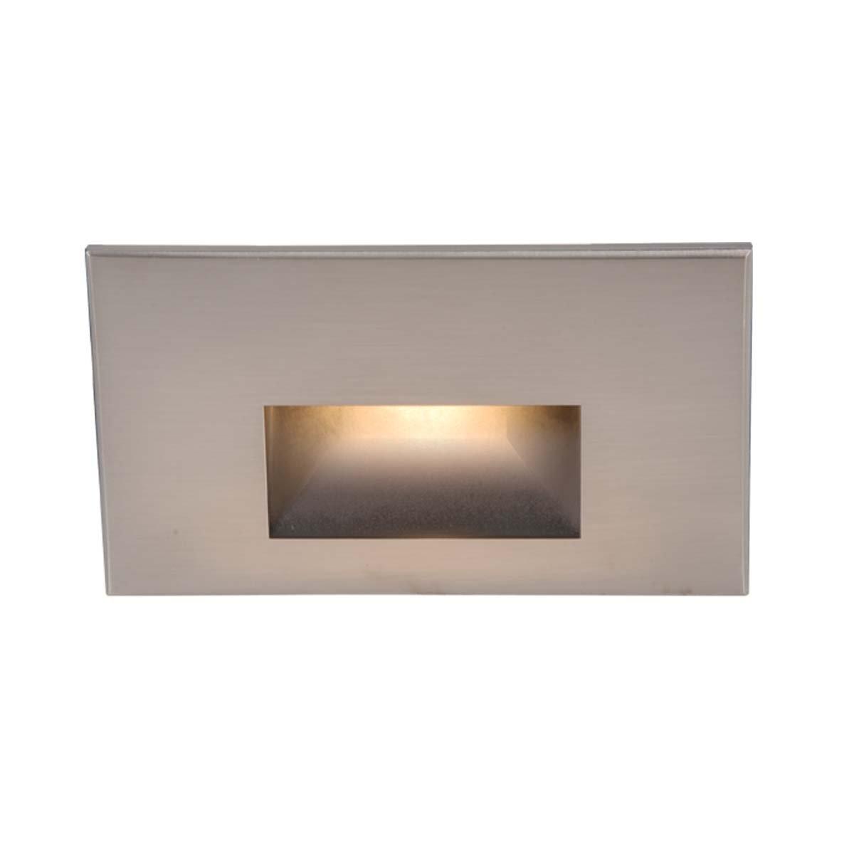 WAC Lighting WL-LED100-C-BN LED Step Light Rectangular Scoop by WAC Lighting