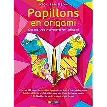 Papillons en Origami