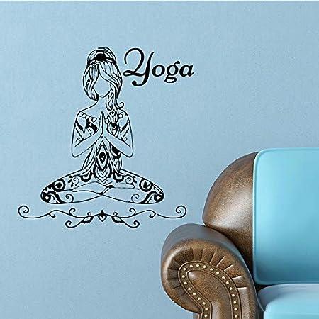 SSW0307 Pegatinas De Yoga para El Hogar Decoración del Hogar ...