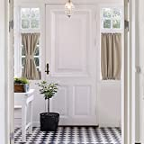 Aquazolax Blackout French Door Curtain Panels