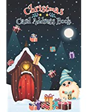 Christmas Card Address Book: Card List Address Book Gift 2020 Christmas Card Tracker for more than 10 years