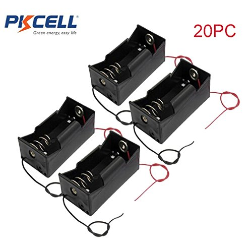 1 Slot D Cell Battery Holder With Two Wires (20)