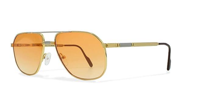 Amazon.com: Hilton 638 COL 1 Gold Vintage - Gafas de sol ...