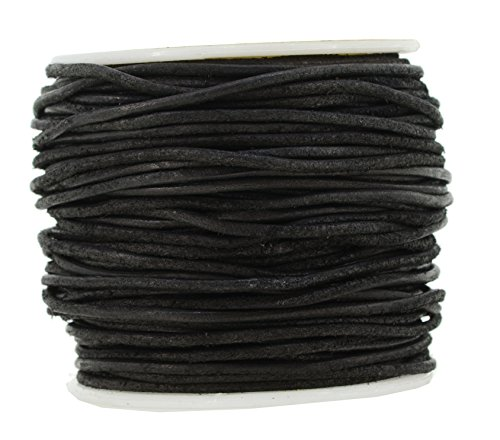 round leather cord 2mm - 7