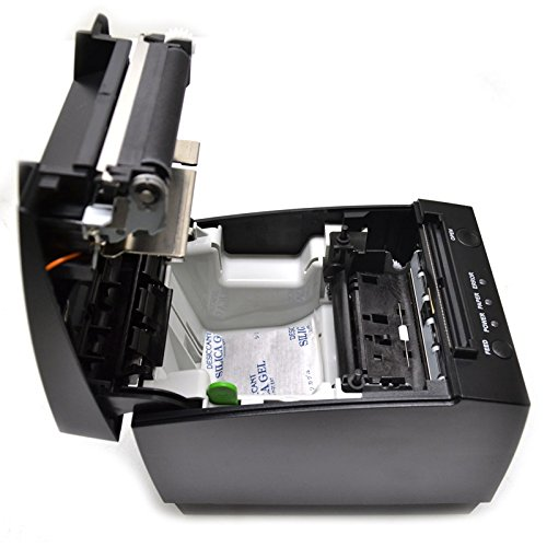 Wincor Nixdorf TH230-PSUB-2013 TH230 THERMAL POS PRINTER, BLACK, RS-232 AND USB INTERFACE, INTERFACE AND POWER