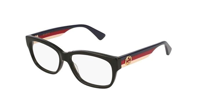 badf4d432c301 Amazon.com  Eyeglasses Gucci GG 0278 OA- 001 BLACK MULTICOLOR  Clothing