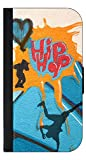 Hip-Hop Wall Art Print Design - Passport Protector Keeper Case Cover / Card Holder for Travel
